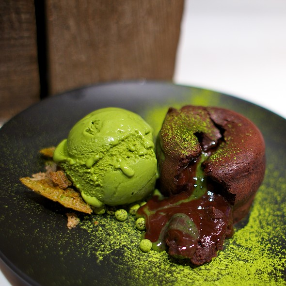 Chocolate Green Tea Lava