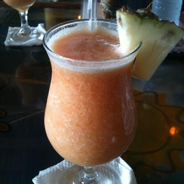 Fresh Mixed Fruit Juice @ Baileys Cafe