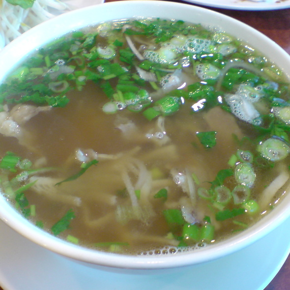 Beef Pho @ Com Tam Thanh