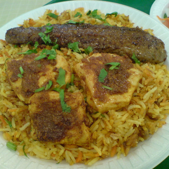 Beef Kabob and Chicken Tikka Plate @ Gulzaar