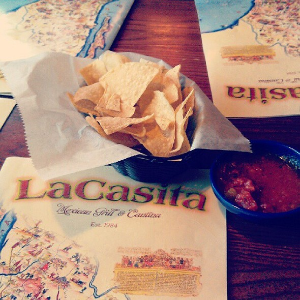 Chips and Salsa @ La Casita Mexican Restaurant