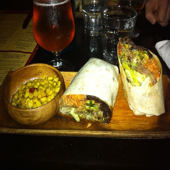 Barbacoa Burrito - Milagro on Mercer, Toronto, ON