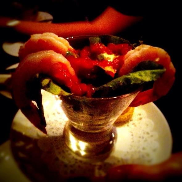 Jumbo shrimp cocktail - Oak Steakhouse, Charleston, SC