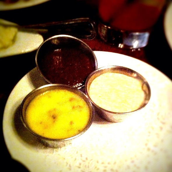Trio Of House Made Steak Sauces - Oak Steakhouse, Charleston, SC