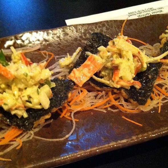 Japanese Nachos @ Nagoya Sushi