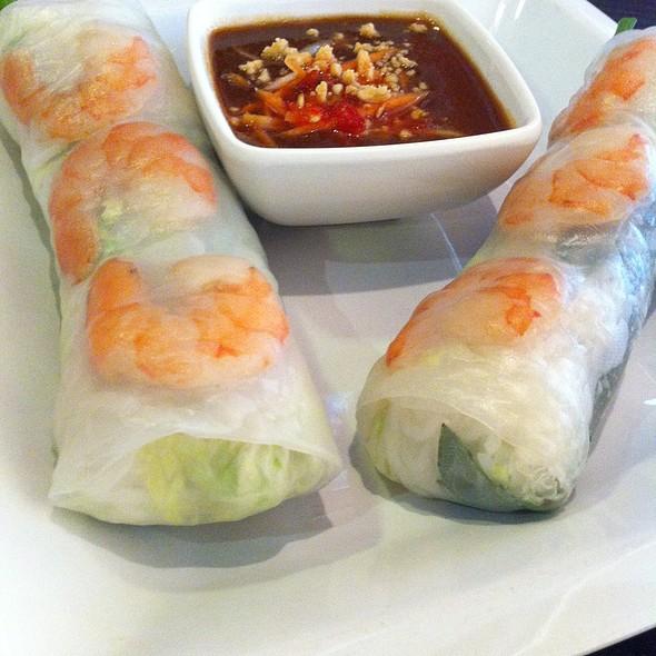 Vietnamese Fresh Spring Rolls @ Pho Thai Nam