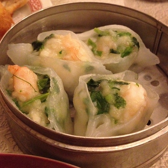 Shrimp And Snow Pea Leaf Dumplings @ Nom Wah Tea Parlor