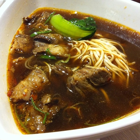 Braised Beef Soup @ Shi Lin