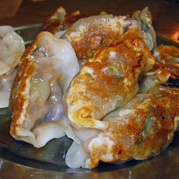Fried dumplings @ Lam Zhou Handmade Noodle