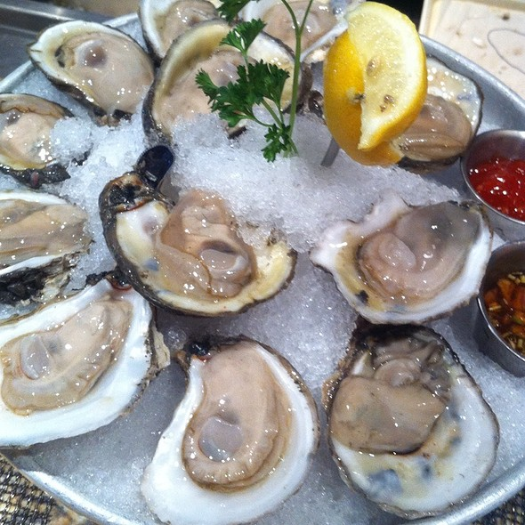Gulf Oysters On The Half Shell