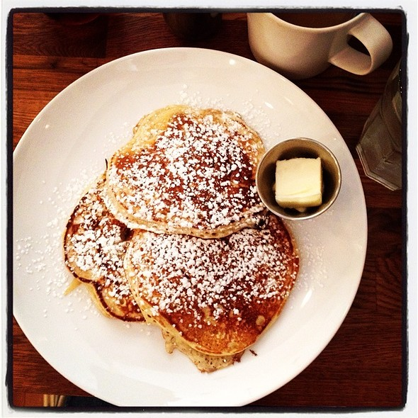 Blueberry Pancakes @ Red Eye Cafe