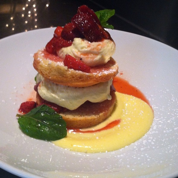 Strawberry Sabayon - Hall Street Grill, Beaverton, OR