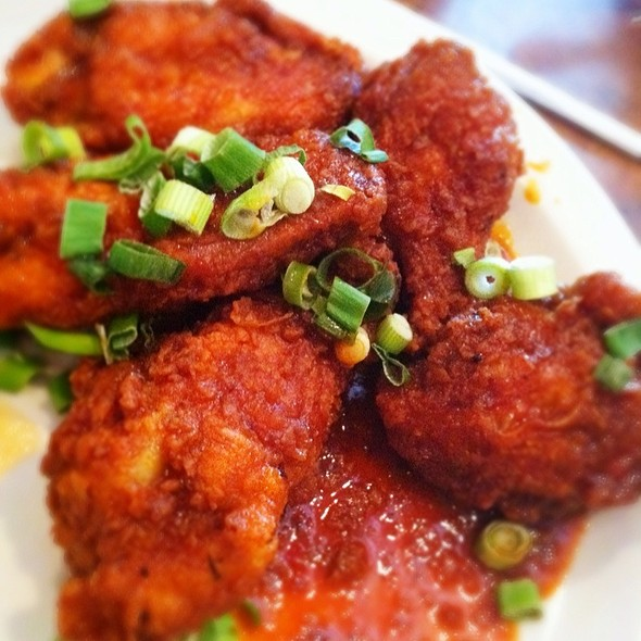 Korean Bbq Wings - Chuck's Southern Comforts Cafe - Burbank, Burbank, IL