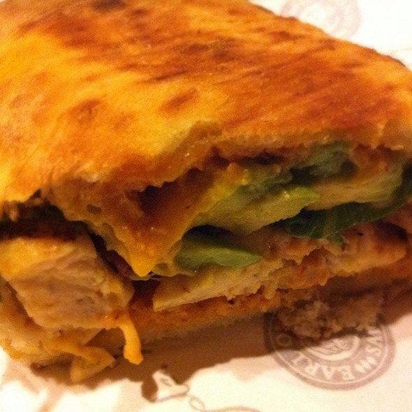 Chipotle Chicken Avocado Sandwich @ Earl of Sandwich
