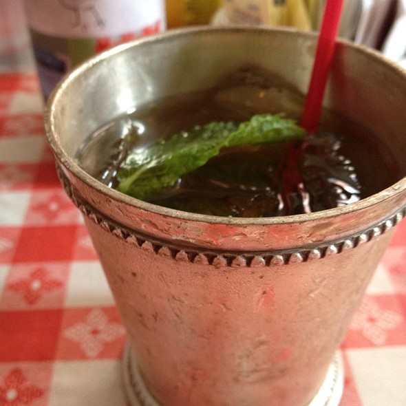 Mint Julep @ Hattie's