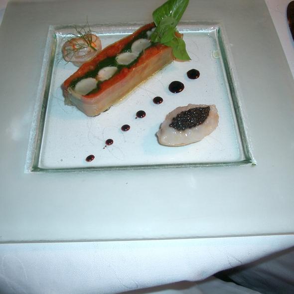 Crawfish Terrine, Oyster, Caviar @ Lameloise