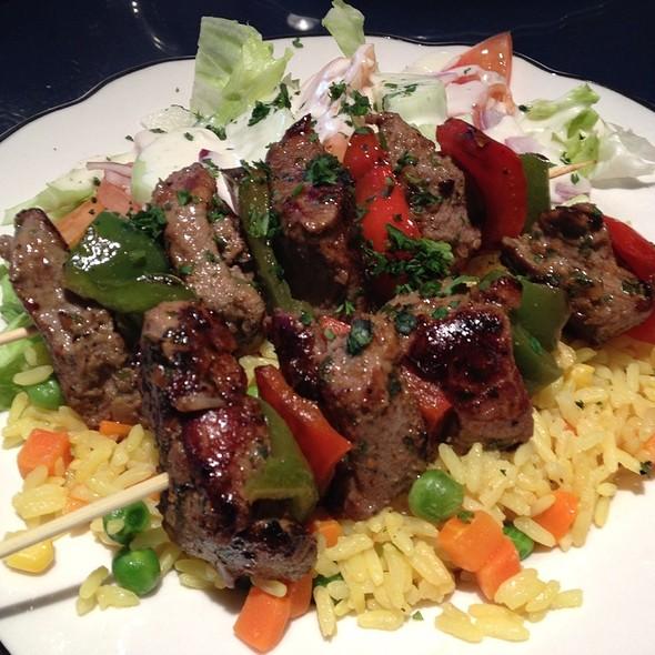 Lamb Kebab @ Argan Moroccan Cuisine