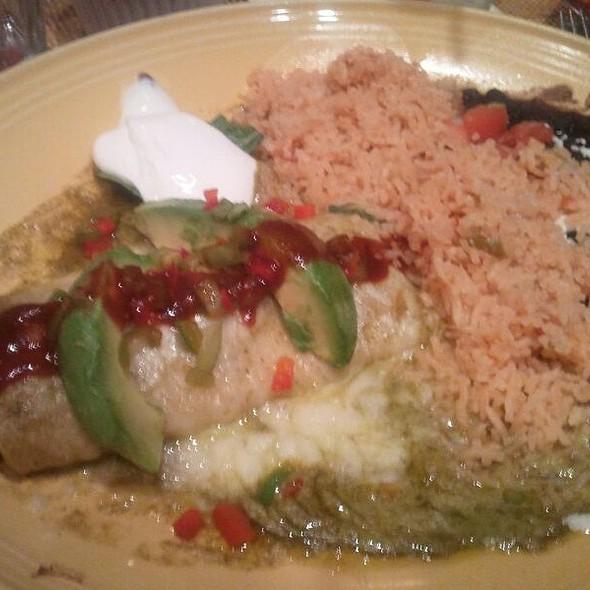 Crab Enchiladas @ El Cholo Restaurant