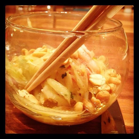 Thai Papaya Salad With Shrimp @ Sustenio