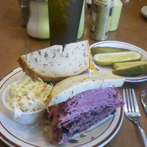 Canter's Fairfax Corned Beef & Pastrami On Rye @ Canter's Fairfax Restaurant