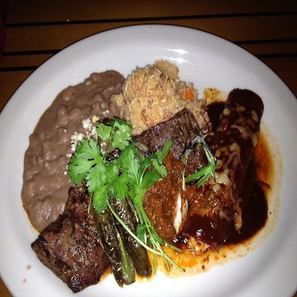 Skirt Steak With Enchilada