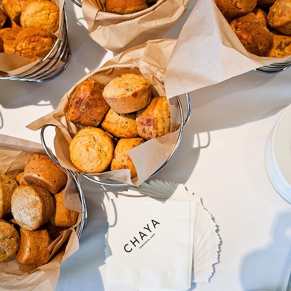 Muffins @ Chaya Brasserie