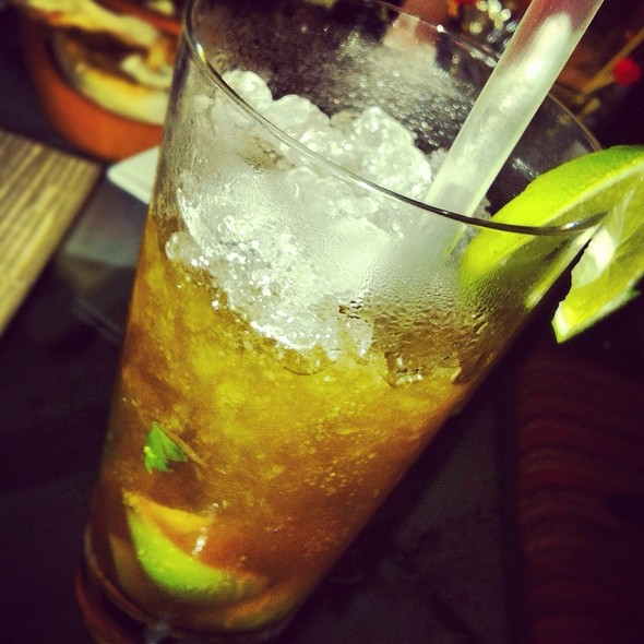 Black Tea Mojito @ Aqua Four Seasons Besiktas