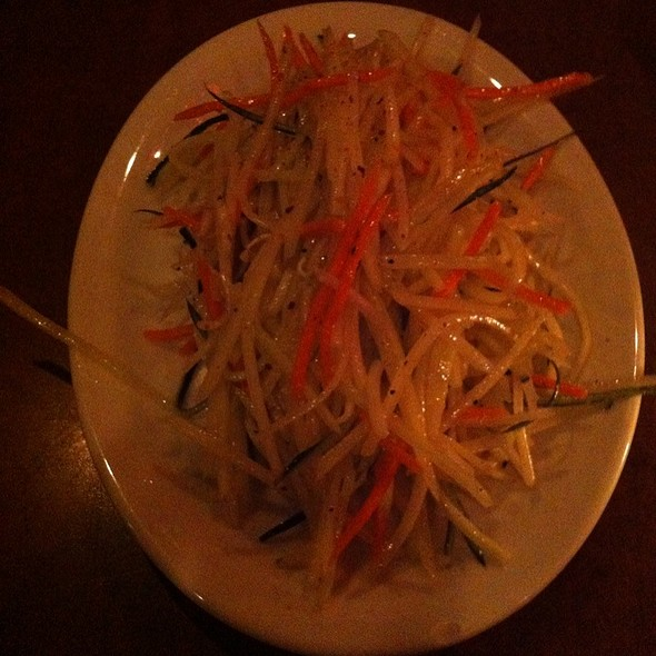 Papaya Salad @ Citrus Club