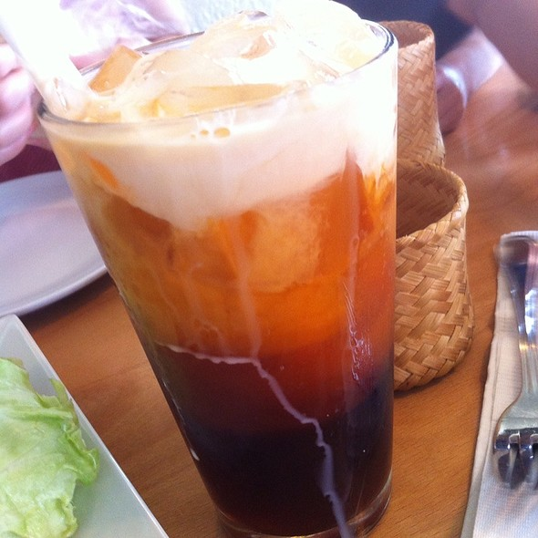 Thai Iced Tea @ Opal Thai Food