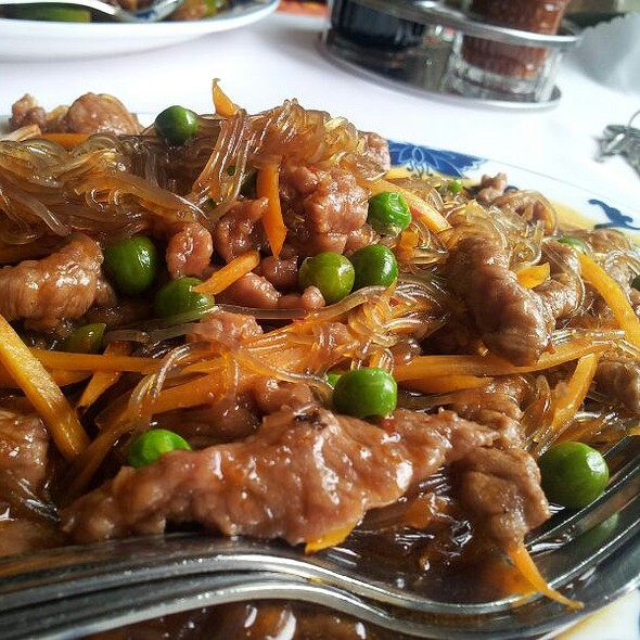 Beef With glass Noodles @ Tian Tan