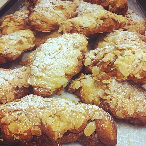 Almond croissant @ Movida Bakery