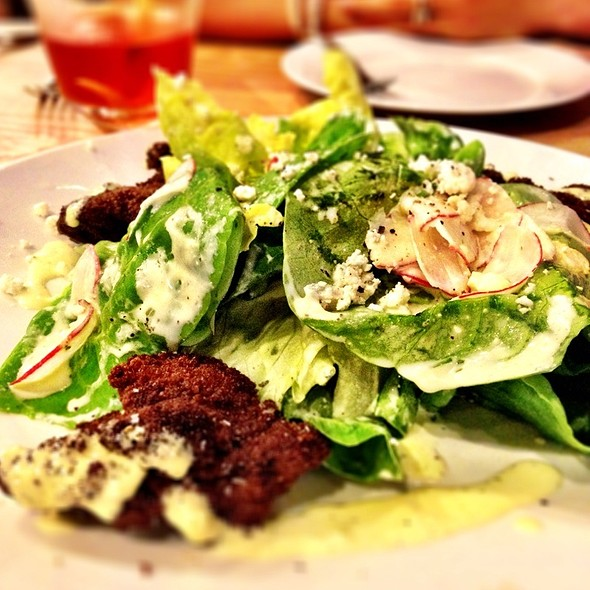 Butter Lettuce Salad @ The Parish