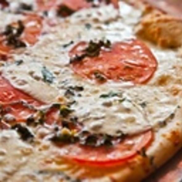 Tomato Basil Pizza @ Pizza Bar