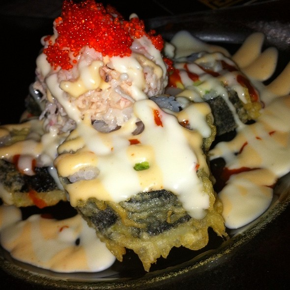 Volcano Shrimp Roll