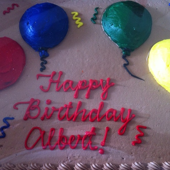Albert's Birthday Cake