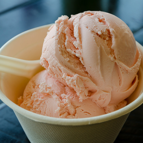 Pink Squirrel Ice Cream @ Mr. and Mrs. Miscellaneous