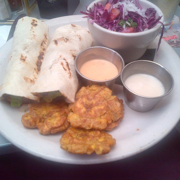 Catfish Tacos @ Bogota Latin Bistro