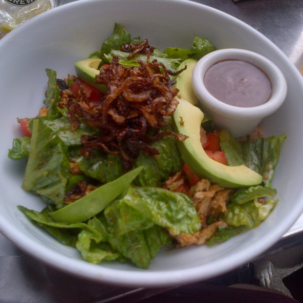 Pulled Chicken Salad @ downtown bar and grill