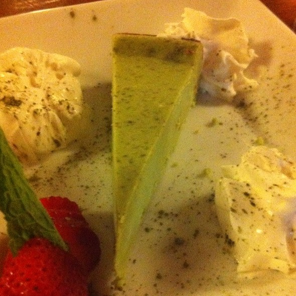 Green Tea Cheese Cake @ Kappo Honda