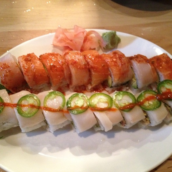 Cristina Roll And Lincoln Heights Roll - Sushi Zushi - Lincoln Heights, San Antonio, TX