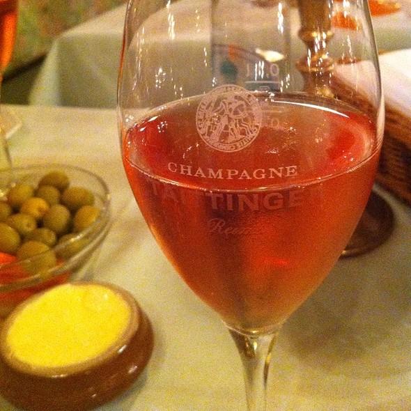 Taittinger Rosé @ Austernkeller