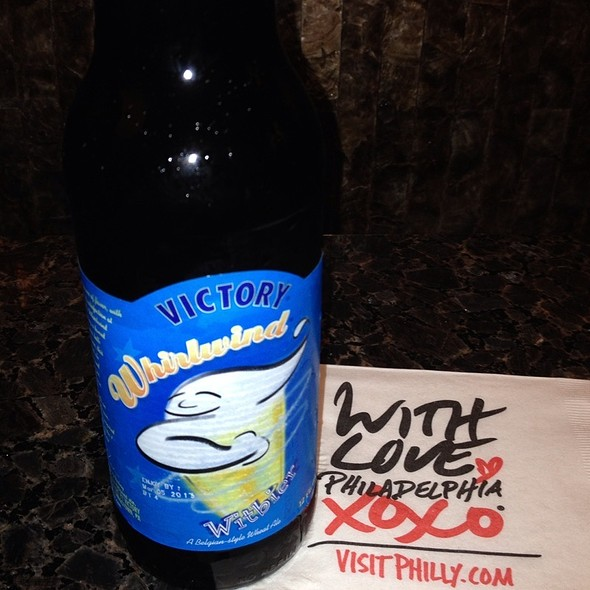Victory Whirlwind Wit @ With Love Beer Garden at the Four Seasons Hotel Philadelphia