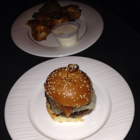 Beef Slider @ With Love Beer Garden at the Four Seasons Hotel Philadelphia