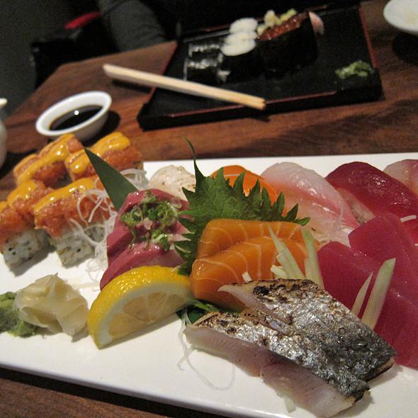 Sushi Sashimi Combo @ Yuba