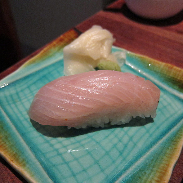 Striped Jack Sushi @ Yuba