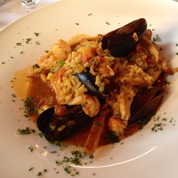 Seafood Paella - Harry's Restaurant, Manhattan, KS