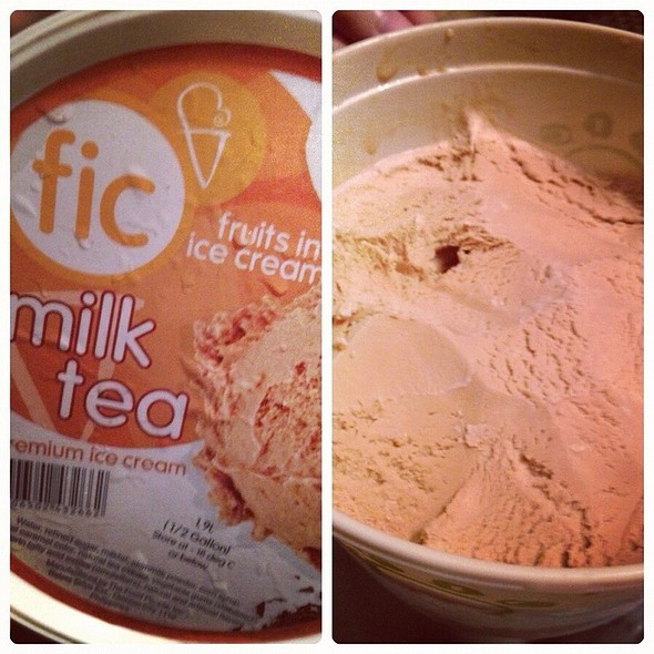 Milk Tea Ice Cream