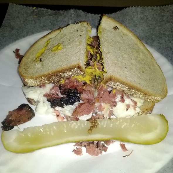 The Other Thing (pastrami W/ Coleslaw) @ This Little Piggy Had Roast Beef