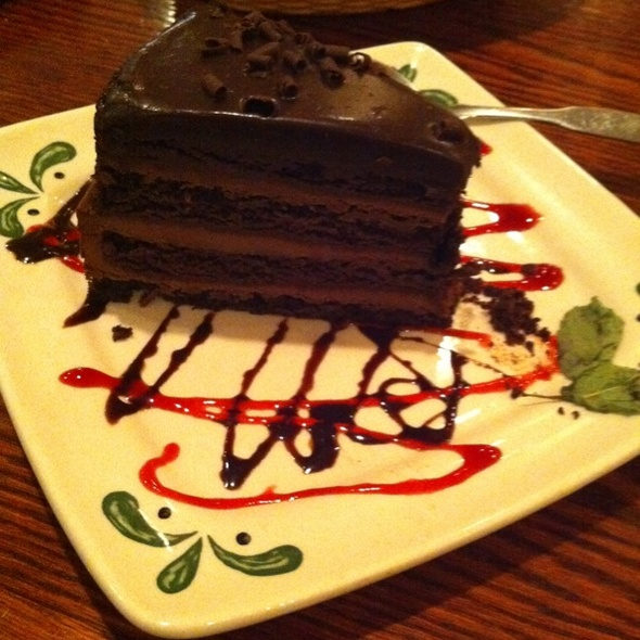 Triple Chocolate Strata @ Olive Garden Italian Restaurant