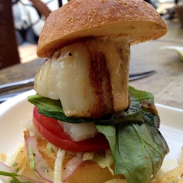 Seared Scallop Slider - Tommy Bahama Laguna Beach Bar & Grill, Laguna Beach, CA